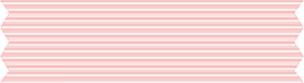 【귀여운 마 스테] 핑크 스트라이프