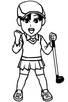 Golf girls 2