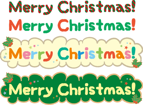 Merry Christmas! character