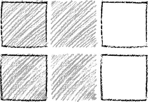 Crayon square a