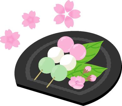 꽃놀이 경단