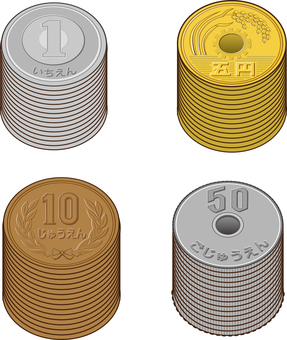 6 kinds of coins Simple full