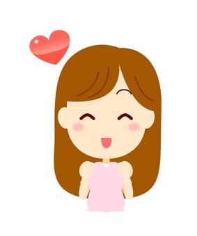 Woman (smile)