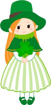 St. Patrick's Day Holidays Girls