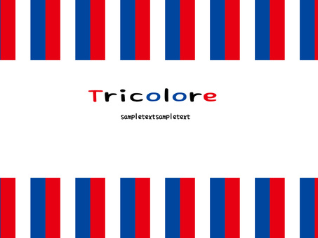 Mount of tricolor