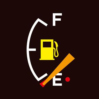 Gasoline meter _ sky _ square