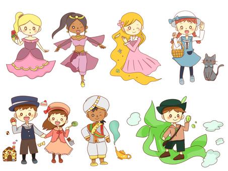 People set of fairy tales