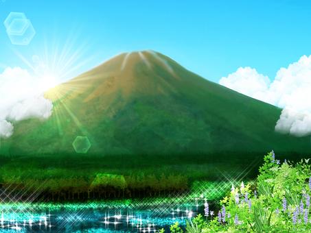 Mount Fuji (summer)