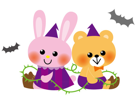 Usagi and Bear's Halloween 2
