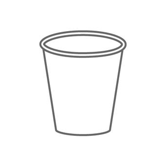 紙杯的圖像(簡單)