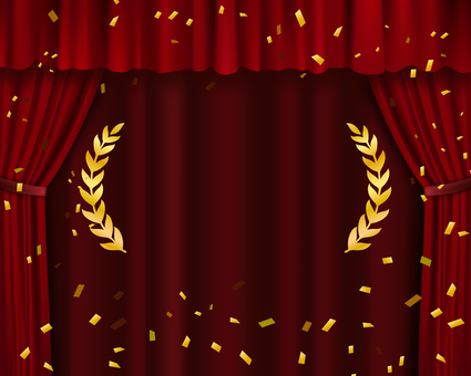 Red curtain (for ranking)