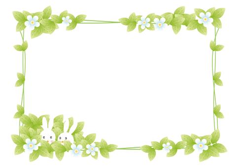 Rabbit couple frame