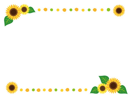 Sunflower decorations rise _ up and down _ 02
