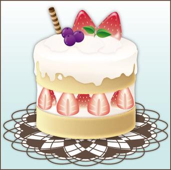 Cake (blue)