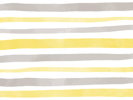 Yellow and gray watercolor stripes