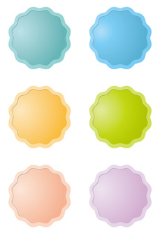 Pastel color button 2