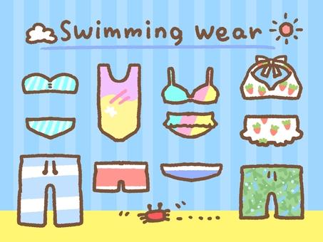 Cute swimwear set