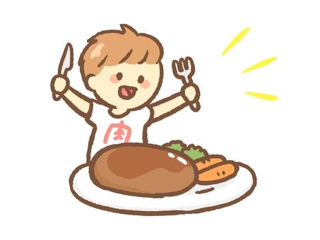 A man who eats