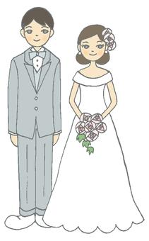 年/月⑧婚姻(灰色)