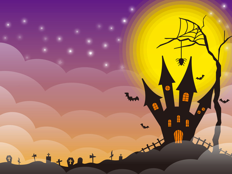 Halloween image 003 purple