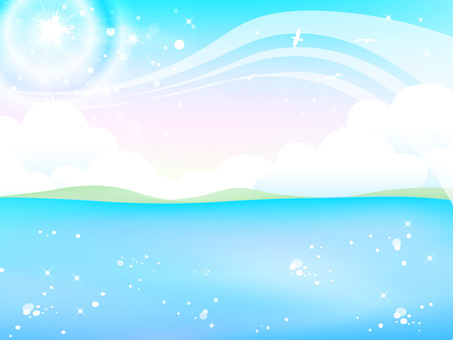반짝 반짝 여름 바다