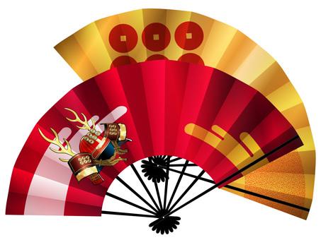 Folding fan (Yukimura Sanada)