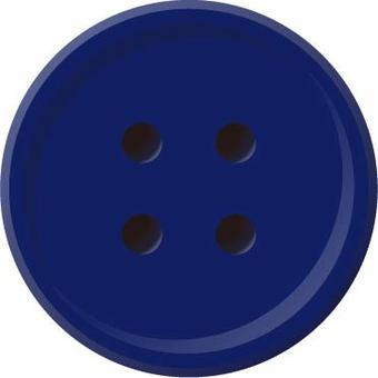 Four-hole button (navy)