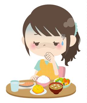 Pregnant women * Eating appetite 03