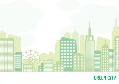 緑の街フレーム