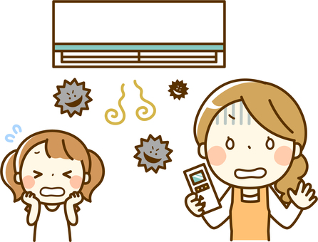 Parent and child of air conditioning trouble