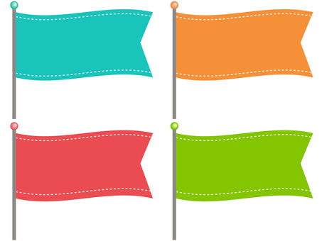 61004. Flag, Horizontal 2
