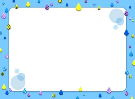 Droplet frame