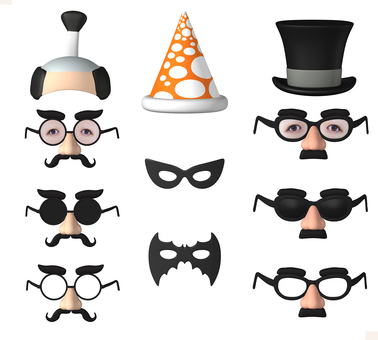 Disguise goods nose glasses