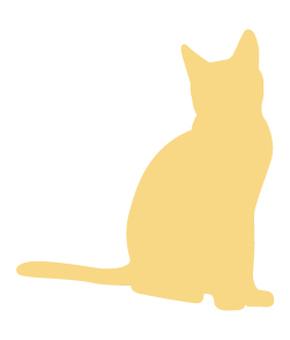 Cat's silhouette 14