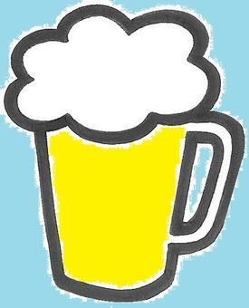 啤酒正在變冷啤酒