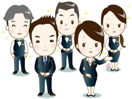 Hotel staff ➃