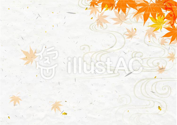 秋に使えるかもしれない背景素材03のイラスト