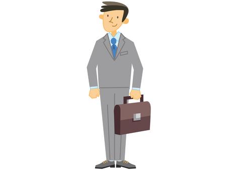 Businessman _ whole body