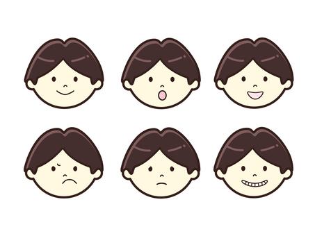 男性・表情