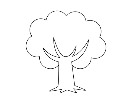 Tree (line drawing)