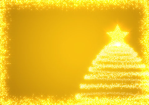 Christmas background _ gold