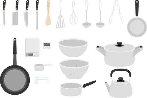 Cooking tool set