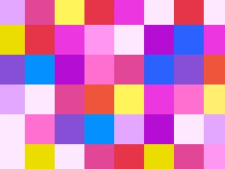 Wallpaper Dot Painting Colorful