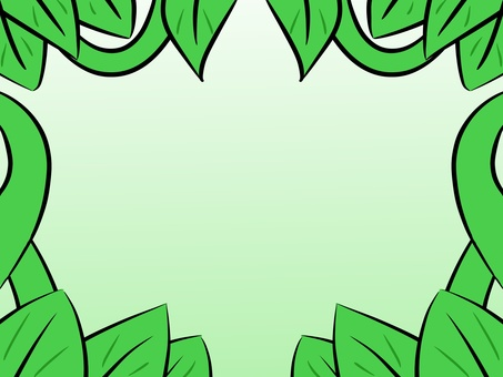 Ivy frame (green)