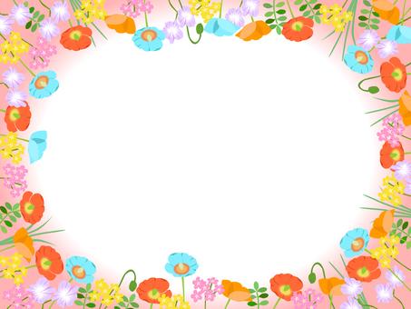 Various flowers Frame 02