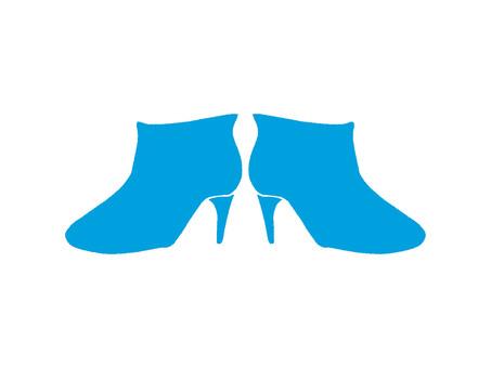 Rain boots-2 blue