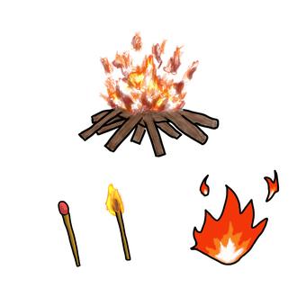 Fire various