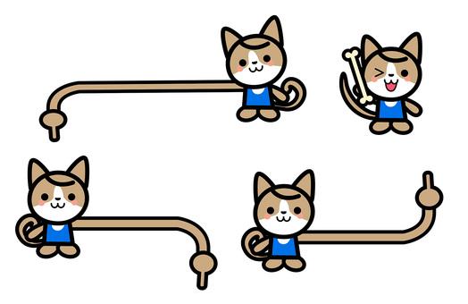 Simple dog's character set - check