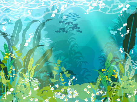 Fresh water background