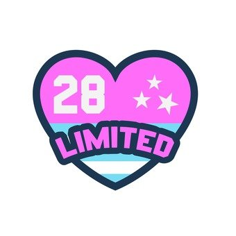 Patch -28 / LIMITED (Pink)
